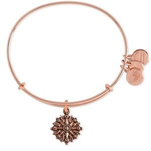 BRAND NEW Rose Gold Alex And Ani Compass Bracelet